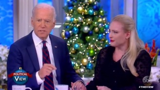 Joe Biden And Meghan McCain Share A Emotional Moment While Discussing Their Experiences With Cancer