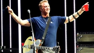 Josh Homme 'Sincerely Apologizes' After Kicking A Cameraperson At KROQ Almost Acoustic Christmas