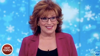 Joy Behar Celebrates Her Nemesis Omarosa's White House Ousting On 'The View'