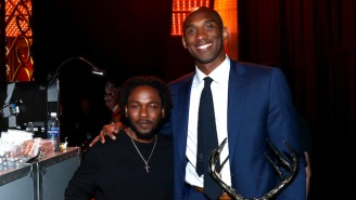 Kendrick Lamar Musically Saluted Kobe Bryant At His Retirement Party With A Special Performance