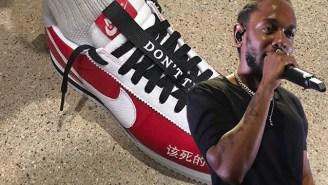 Kendrick Lamar's Nike Cortez Collab Will Release On Grammy Night