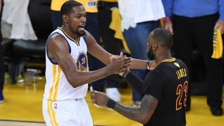 Kevin Durant Felt His 'Pass The Torch' Comment About LeBron Got Taken Out Of Context