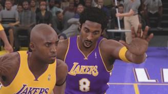 We Had No. 8 Kobe Play No. 24 Kobe 1-On-1 In 'NBA 2K18' And It Wasn't Even Close