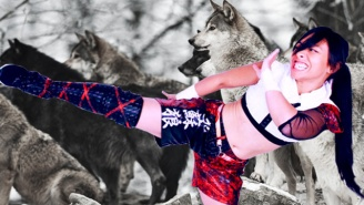 Pro Wrestler Kris Wolf Talks About Her Strange Journey From English Teacher To Actual Wolf