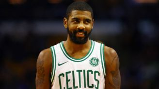 Stephen Jackson Brought A Globe To NBA All-Star Media Day To Troll Kyrie Irving