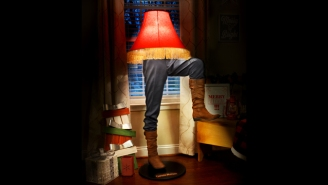 There's A Captain Morgan/ 'A Christmas Story' Lamp For The Frâgilé Pirate In Your Life