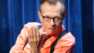 Larry King 'Flatly And Unequivocally' Denies Allegations That He Groped A Woman During A Photo Op