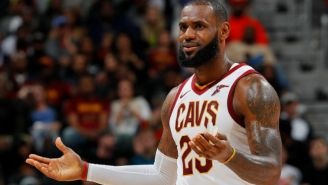 LeBron James Somehow Nutmegged Aaron Gordon On A No-Look, Behind-The-Back Bounce Pass