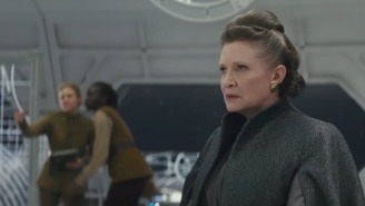 Carrie Fisher Wrote Some Of The Most Emotional 'The Last Jedi' Scenes, Says Director Rian Johnson