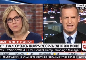 CNN's Alisyn Camerota Shuts Down Corey Lewandowski For Refusing To Condemn Roy Moore