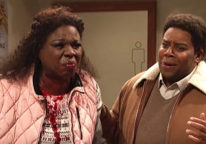 James Franco Actually Made Leslie Jones Throw Up In Her Mouth Live On 'SNL'