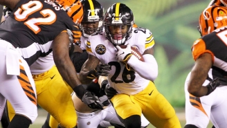 Le'Veon Bell Scored While Three Bengals Defenders Simply Watched