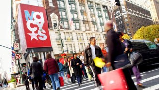 Holiday Shoppers Broke Spending Records, Which Has Sent Department Store Stocks Soaring