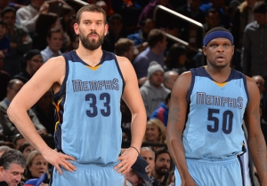 Marc Gasol Says Memphis Made A Mistake By Letting Zach Randolph And Tony Allen Leave