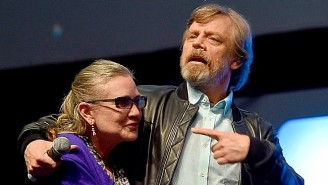 Mark Hamill Offers A Beautiful Tribute To Carrie Fisher On The Anniversary Of Her Passing