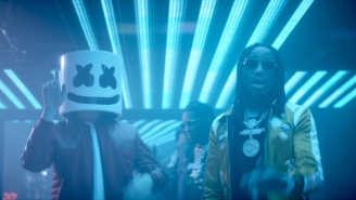 Trap Meets EDM As Migos And Marshmello Release Their 'Bright' Soundtrack Collaboration 'Danger'