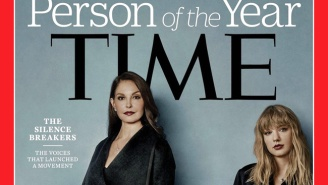 'Time' Magazine's 2017 'Person Of The Year' Is The #MeToo Movement