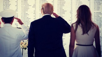 Both Donald And Melania Trump Managed To Bungle Tweets About Pearl Harbor Remembrance