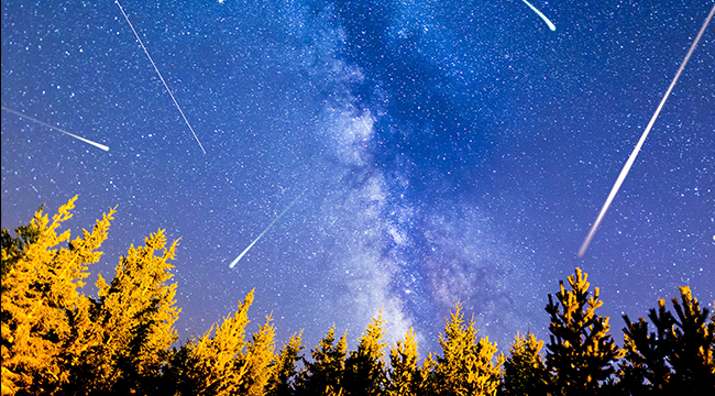 germinid meteor shower - how to watch