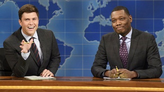 'SNL' Weekend Update Anchors Michael Che And Colin Jost Are Guest-Hosting WWE Raw