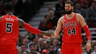 Things Are Getting Downright Friendly Between Bobby Portis And Nikola Mirotic