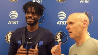 Nerlens Noel And Rick Carlisle Laughed Off His Hot Dog 'Incident' From Saturday Night