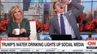 CNN's Chris Cuomo Ridicules Trump's 'Sippy Cup' Approach To Drinking Water