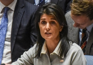 Nikki Haley 'Will Not Shut Up' Over Criticism For Moving The U.S. Embassy In Israel To Jerusalem