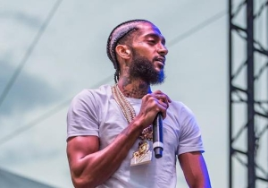 Nipsey Hussle Celebrates His Ten Years In The Rap Game With Swizz Beats On Surprise Single 'Been Down'