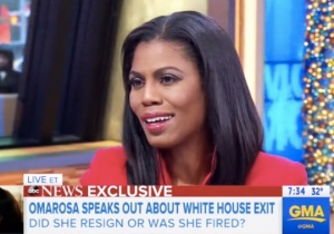 Omarosa Spins Her White House 'Resignation' As It Being Her Own Idea On 'Good Morning America'