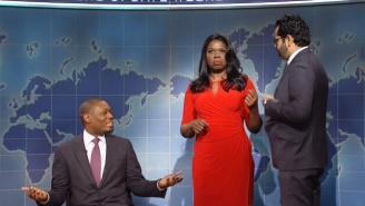 Omarosa Joins 'SNL' During Weekend Update To Share Her Side Of Her Firing Story