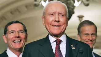 Orrin Hatch Thanked A Paper That Criticized His 'Unquenchable Thirst For Power,' And He's Getting Roasted
