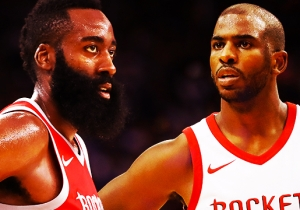 James Harden And Chris Paul Are Already In The Argument For The Best Backcourt Ever