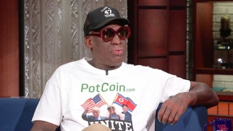 Stephen Colbert On Dennis Rodman's Friendship With Kim Jong-Un: 'You. Must. Be. High.'