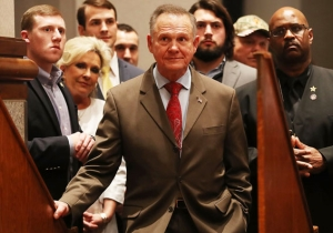 Roy Moore Is Now Attempting To Shame Doug Jones For Having A Gay Son (Or Something)