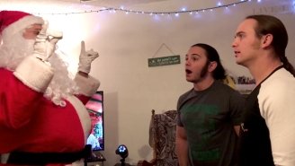 The Young Bucks Once Again Fought Their Oldest Rival, Santa Claus