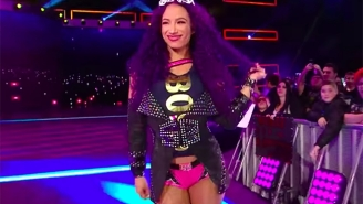 A WWE Fan Successfully Sold Some Of Sasha Banks' Hair On eBay