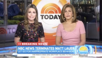 'Today' Show Ratings Are Way Up After Matt Lauer's Firing