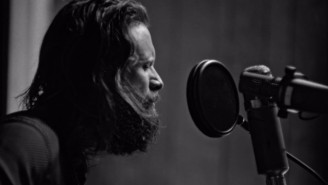 Father John Misty Gets Back To Basics In The Black-And-White 'Leaving LA' Video