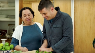 Rostam Prepares A Persian Feast With His Cookbook Writer Mother In An Adorable Video