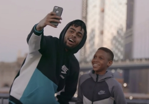 D'Angelo Russell Explored Brooklyn With Another 'New Kid' In The Latest Kids Foot Locker Ad