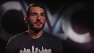 Johnny Gargano Gave His Parents A Very Special Christmas Present