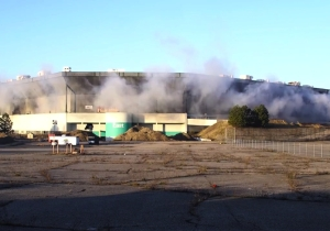 The Pontiac Silverdome Is Apparently Indestructible As An Implosion Attempt Failed