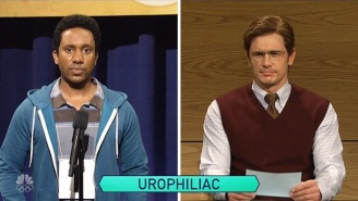 James Franco Becomes A Vindictive Spelling Bee Judge A Little Too Easily On 'SNL'