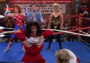 The Wrestling Episode: 'Step By Step' Takes On The Beautiful Ladies Of Wrestling
