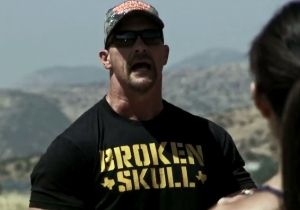 Watch Steve Austin Announce His 'Toughest Show' Ever In This Exclusive 'Broken Skull Ranch' Finale Clip