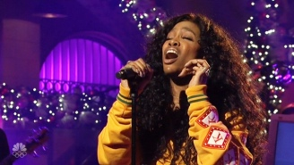 SZA's 'Saturday Night Live' Performance Of 'Love Galore' Grew Into A Massive Brand New Verse