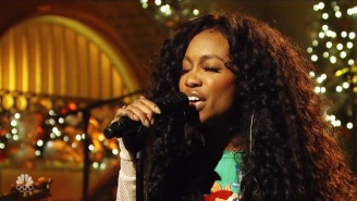 Watch SZA's Sultry Performance Of 'The Weekend' On 'SNL' Backed By A Full Choir