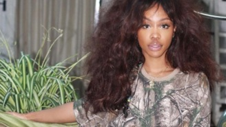 SZA Is The Face Of Fenty Beauty's 'Mattemoiselle' Lipstick By Rihanna, And She Looks Stunning