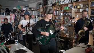 This Is The Kit Brought Her Brand Of Serene And Evocative Folk To An NPR Tiny Desk Concert